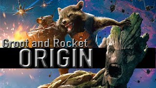 Groot And Rocket Origin (Guardians Of The Galaxy)