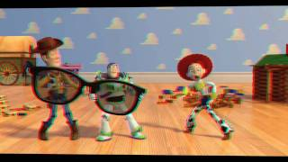 Toy Story 3D Trailer in 3D Anaglyph