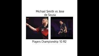 Michael Smith Vs Jose De Sousa Players Championship 10 R2