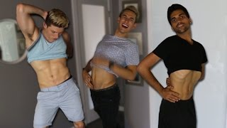 YOU WON'T BELIEVE WHAT GUYS DID WITH THEIR ABS