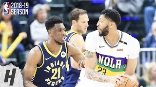 New Orleans Pelicans vs Indiana Pacers - Full Highlights | February 22, 2019 | 2018-19 NBA Season