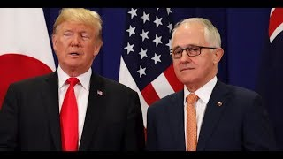 WATCH: President Donald Trump HISTORIC Joint Press Conference with PM Malcolm Turnbull of Australia
