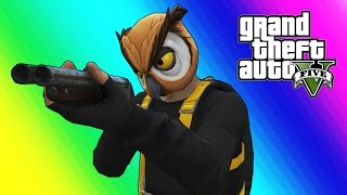 GTA 5 Online Funny Moments - Bubble Daryl Shotgun & Sumo Gamemode (Give Birth!)
