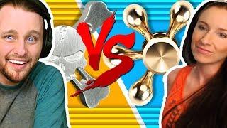 FIDGET SPINNER CHALLENGE w/ MADELYN!!