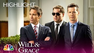 Will & Grace - The Secret Service Is Gay (Episode Highlight)