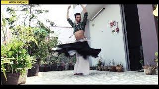Indian male belly dancer breaking barriers