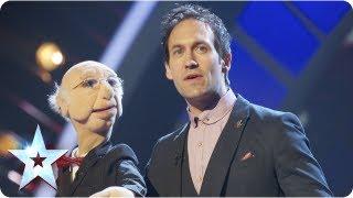 Steve Hewlett is the puppet master | Semi-Final 5 | Britain's Got Talent 2013