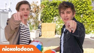 Jace Norman, Jack Griffo & More Take on Summer Challenges | Nick's Sizzling Summer Camp Special