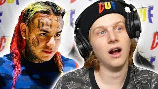 Did not expect this.. 6IX9INE - STOOPID FT. BOBBY SHMURDA REACTION!
