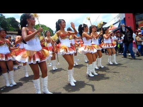 Ahuachapan Desfile Independencia El Salvador 2013