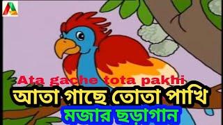 Ata Gachey Tota Pakhi - Bangla Kobita