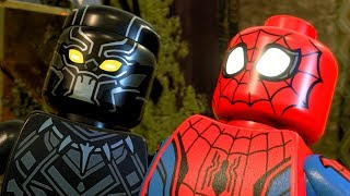 LEGO Marvel Super Heroes 2 Black Panther Scares Spider-Man