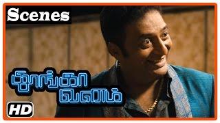 Thoongavanam Tamil Movie   Scenes   Kishore finds the bag   Kamal Haasan   Trisha