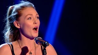 Lucy O'Byrne performs 'Ebben Ne Andro Lontana' – The Voice UK 2015: Blind Auditions 1 – BBC One