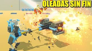 COMBATES EN EL MODO ENDLESS (SIN FIN) - CLONE DRONE IN THE DANGER ZONE