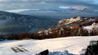 Tåkedans i Vang i Valdres