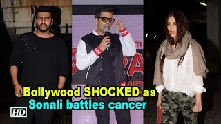 Sonali battling cancer; Bollywood SHOCKED with the news