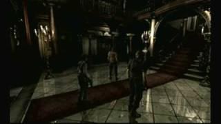 Resident Evil Remake Jill Walkthrough Part 1 - Intro