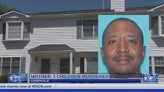 NC mom and her 3 young daughters killed, suspect captured