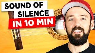 Gitarre lernen - Disturbed - Sound of silence - EINFACH & auf deutsch