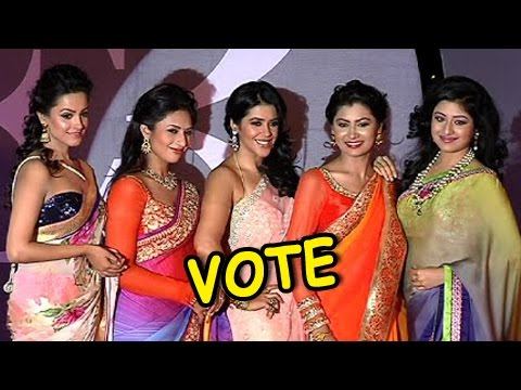 Xxx Mp4 Ishita Pragya Simar Shagun Ishaani Who Looks HOT In Saree VOTE 3gp Sex