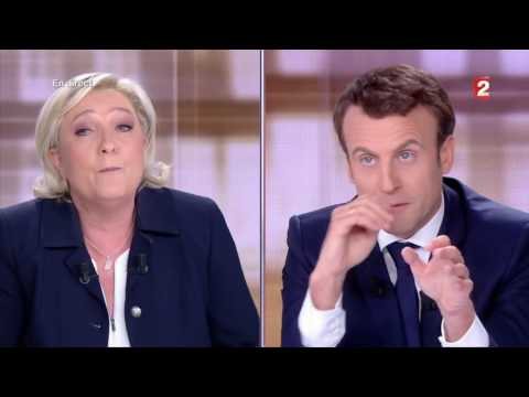 Macron VS Le Pen Au Grand Débat - 1er Partie (03/05/17)