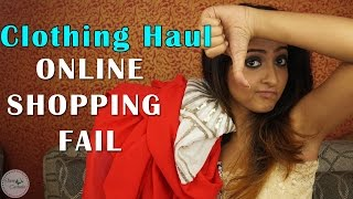 Huge Clothing Haul | ONLINE SHOPPING FAIL | Zaful and Flipkart