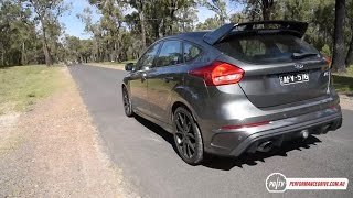 2017 Ford Focus RS 0-100km/h & engine sound