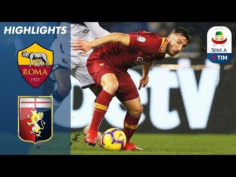 Xxx Mp4 Roma 3 2 Genoa Cristante Proves The Difference In Five Goal Thriller Serie A 3gp Sex