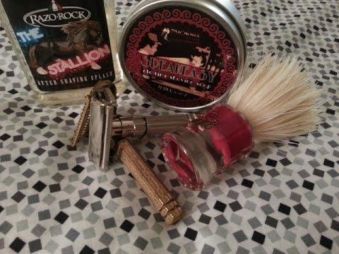 PAA Speakeasy shaving soap & Derby Blade Challenge day-3