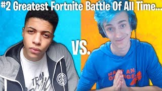 TOP 10 GREATEST FORTNITE BATTLES OF ALL TIME!