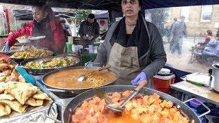 Indian Food from Gujarat. London Street Food