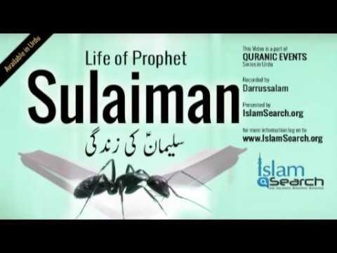 "Events of Prophet Sulaiman's life (Urdu) -  ""Story of Prophet Sulaiman in Urdu"""