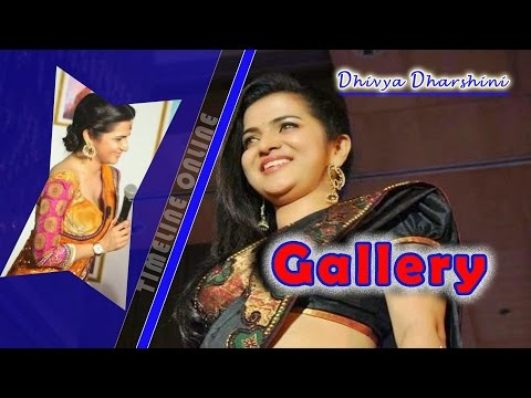 Divya Darshini | DD | Vijay TV Anchor | Video Photo Collection | Cool & Hot |  Gallery 2016