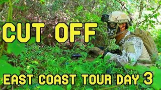 East Coast Tour Day 3: Cut Off (Ballahack Airsoft Game Play)