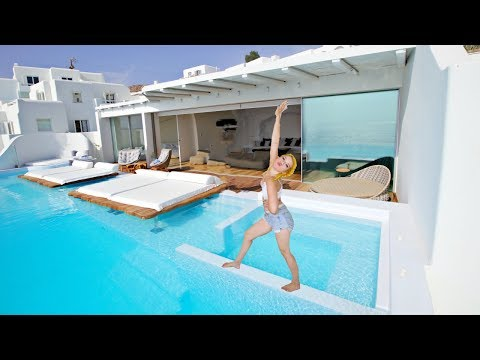 Greece Hotel Mansion Tour