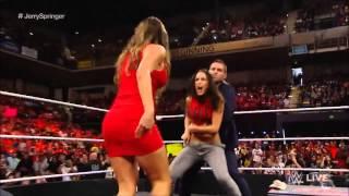 Nikki Bella slaps her brother JJ