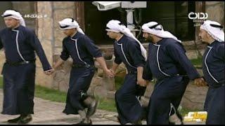 دخول اسماعيل النصار على دبكة فلسطينية بأداء عبيد المشحن | #حياتك68