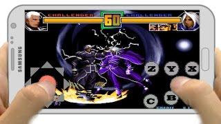 kof2001 plus hack en android Tiger arcade,Fba4droid y Kawaks arcade