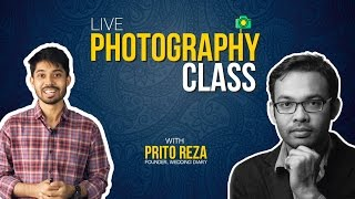 Live PHOTOGRAPHY Class with Prito Reza (Founder, Wedding Diary) | Ayman Sadiq