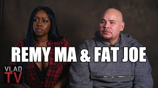 Remy Ma on How She Got Her Face Cut, Fat Joe on Getting Shot & Stabbed