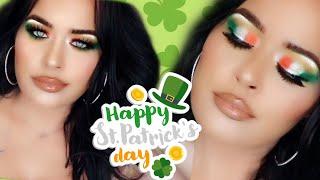 Lucky St Patricks Day Makeup Tutorial I Irish Makeup Artist Look #stpatricksday