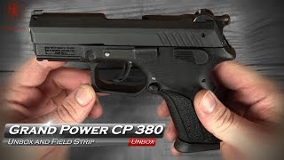 Grand Power CP 380 Unbox and Field Strip