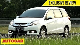 Honda Mobilio | Exclusive First Drive Video Review | Autocar India