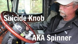 Steering Wheel Spinners - Keep Calm and Spin On