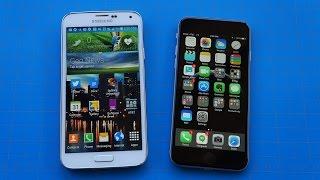 iPhone 6 vs Galaxy S5: No Common Ground