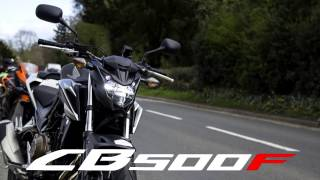 2017 Honda CB500F Review | Urban and Rural Test