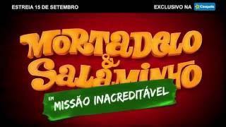 Marco Luque e Lucas Salles convidam para assistir Mortadelo & Salaminho em Missão Inacreditável
