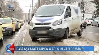 Stirile Kanal D (22.03.) - Mai multe drumuri inchide din cauza codului portocaliu! Editie COMPLETA