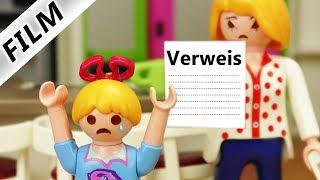 Playmobil Film deutsch | SCHULVERWEIS - Fliegt Hannah wegen Brief von der Schule? |  Familie Vogel